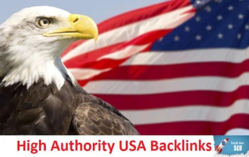 Create 50 USA authority backlinks