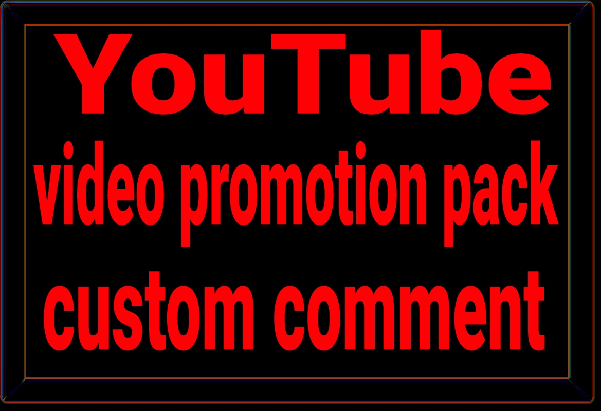 Seo for YouTube video promotion via real users