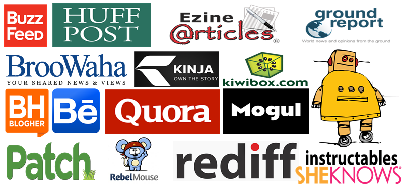 Write and Guest Post Articles on 5 High Dofollow Websites with DA 80+