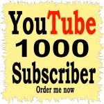 1000 non drop You,Tube  Subscr,ibers Refill Guaranteed Instant