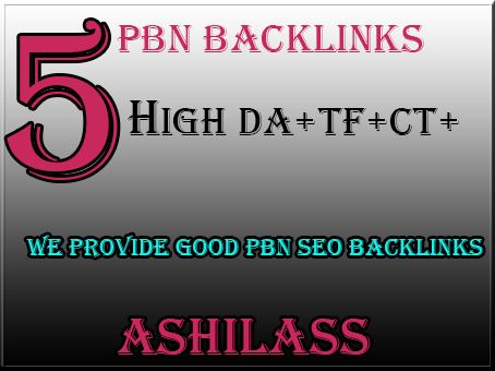 Get 5 permanent PBN backlink to boost your website