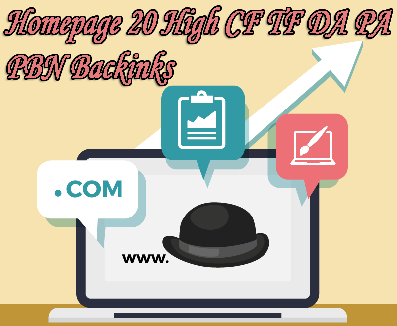 Google 1 Page with High DA PA CF TF 50 Permanent Homepage PBN Backlinks and 3000 2nd Tire backlinks