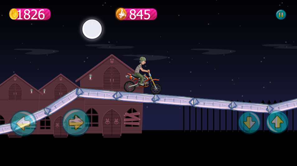 Freaky Bike -Buildbox Game Template
