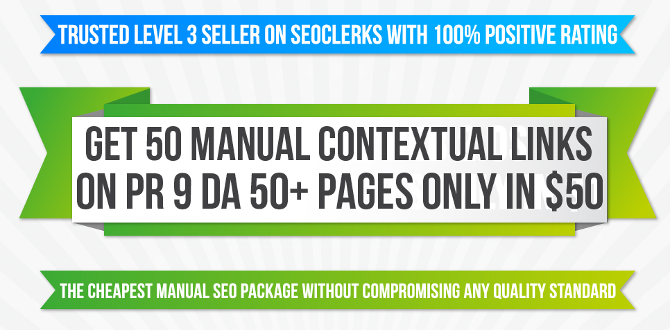 I Will MANUALLY Create 50 Contextual Backlinks DA 50+ PAGES