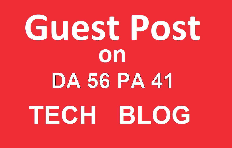 Publish a guest post on Area19delegate.org - Technology Blog - DA56