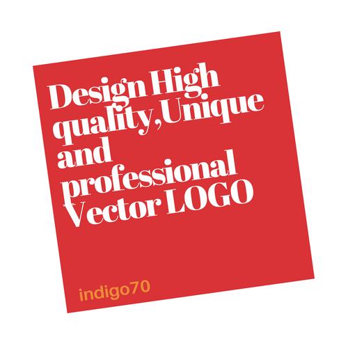 Design High quality, Unique and professional Vector L...