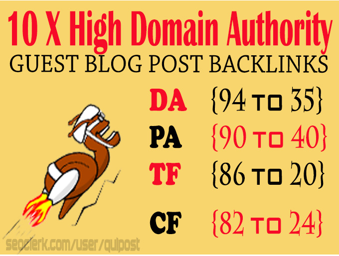Write & Publish 10X High Authority Guest Post DA 95-35 Health,  Business,  Technology,  Fashion Blog