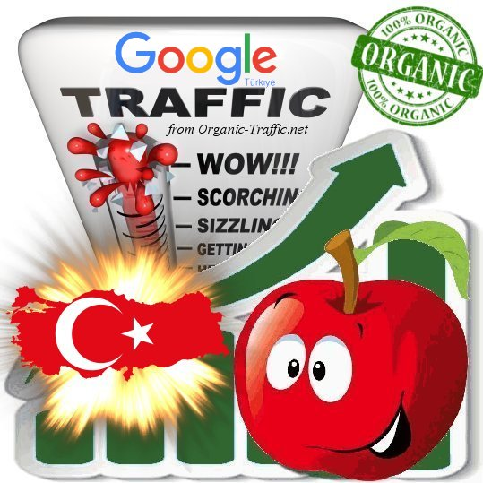 Turkish Search Traffic from Google. com. tr