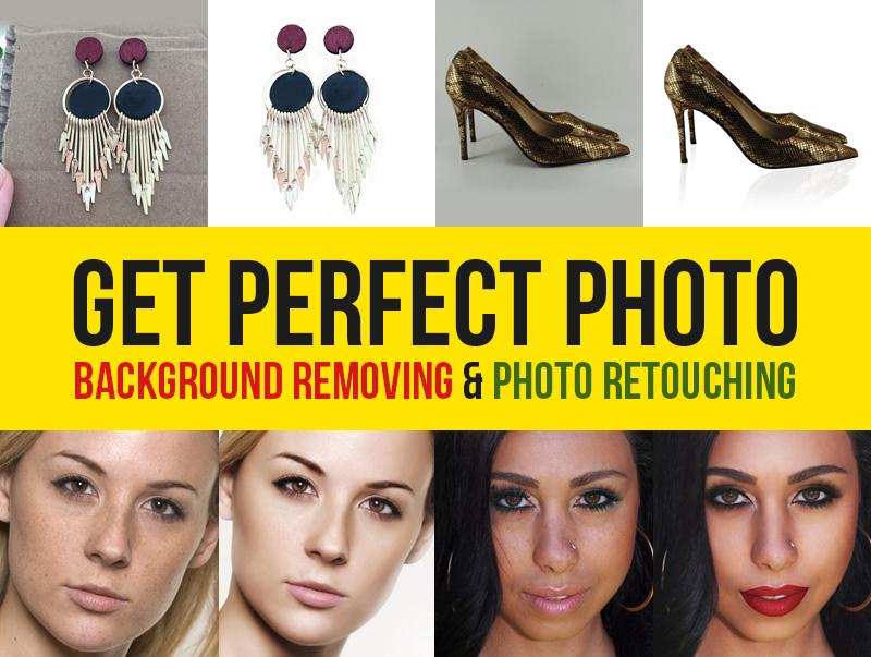 Any Photo Retouching,  Background Removal 20 image