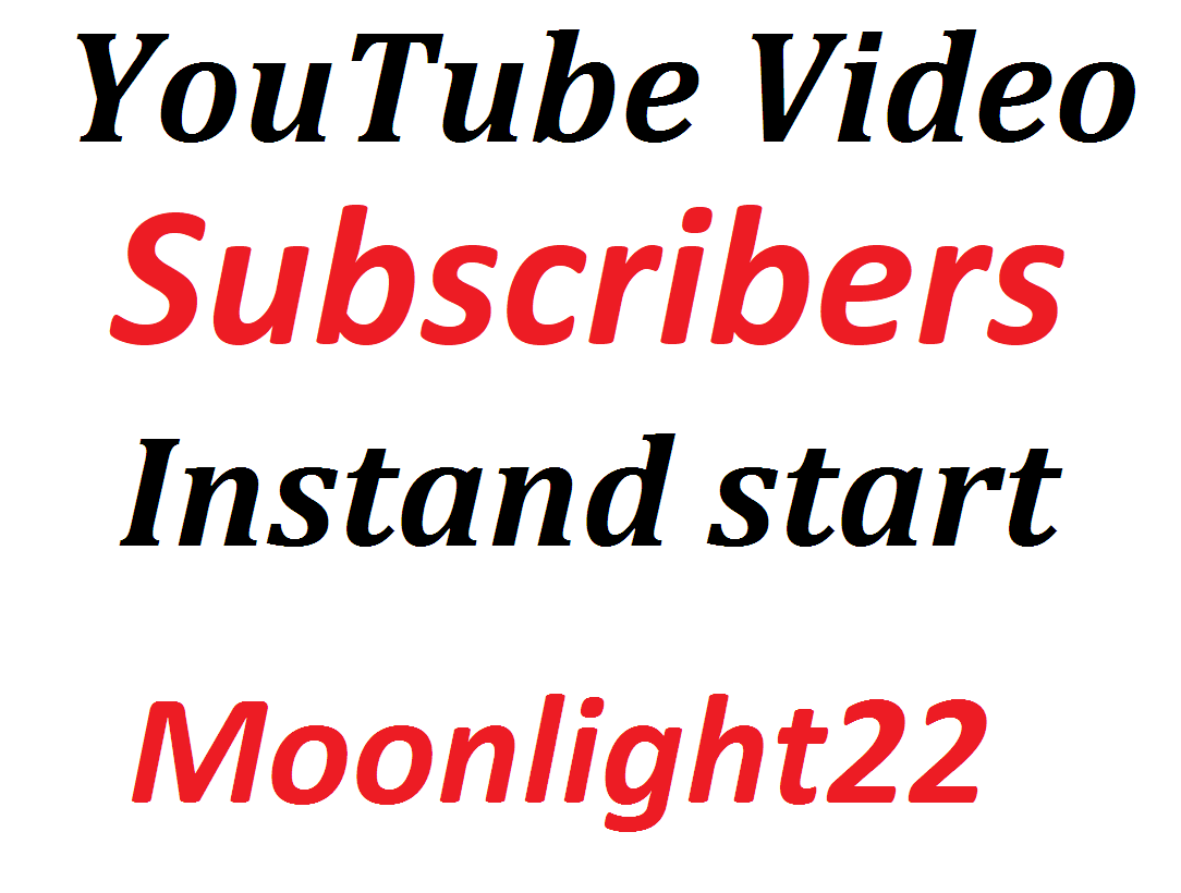 Instant Start YouTube Video Promotion Social Media Marketing Non Drop Just