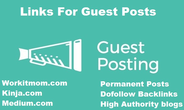 """I Will "" publish 3 high Authority sites guest post"