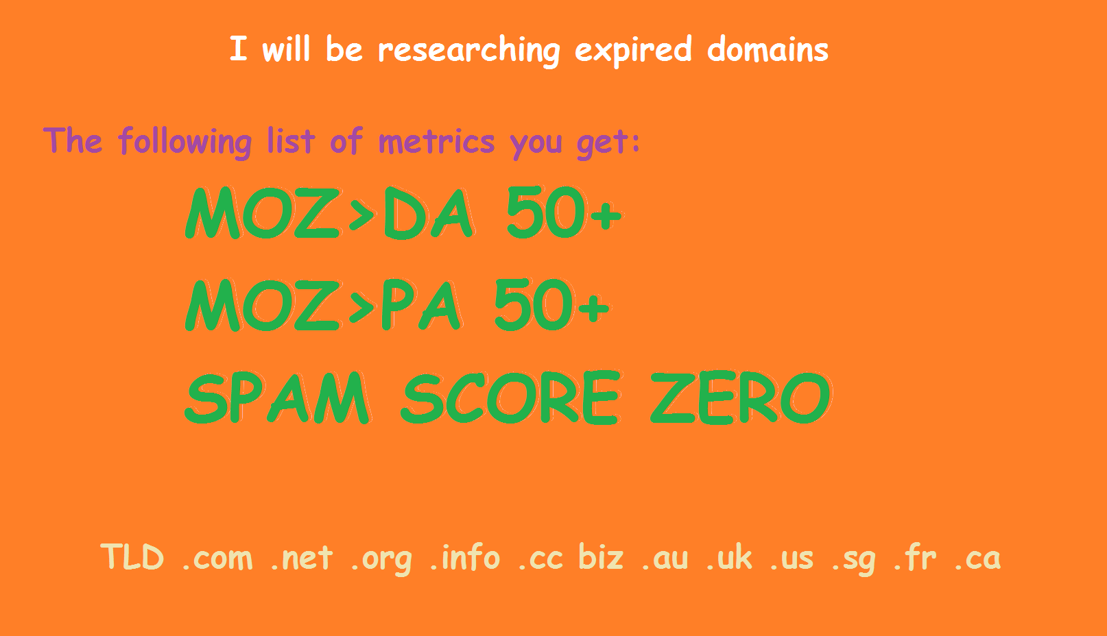 researching expired domain for PBN DA50+ PA30+