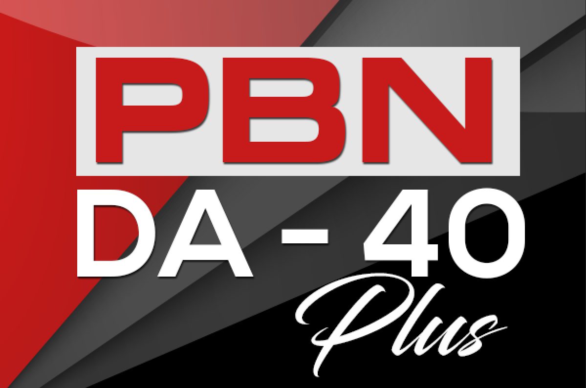 Build 5 PBN DA 40+ Homepage Backlinks