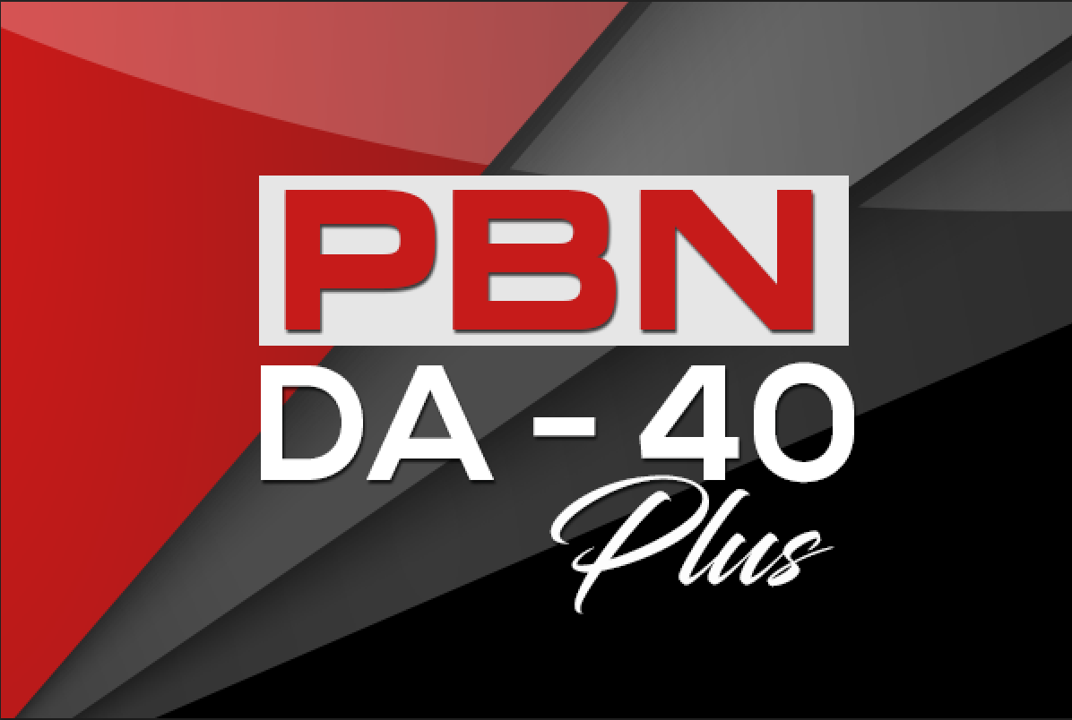 Do 5 PBN DA 40+ Homepage Backlinks