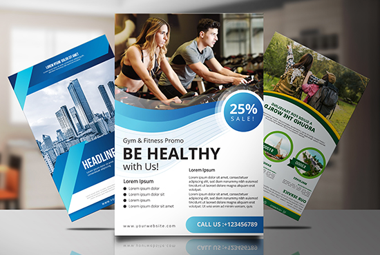High-Quality Professional Flyer/Poster/Brochure Design