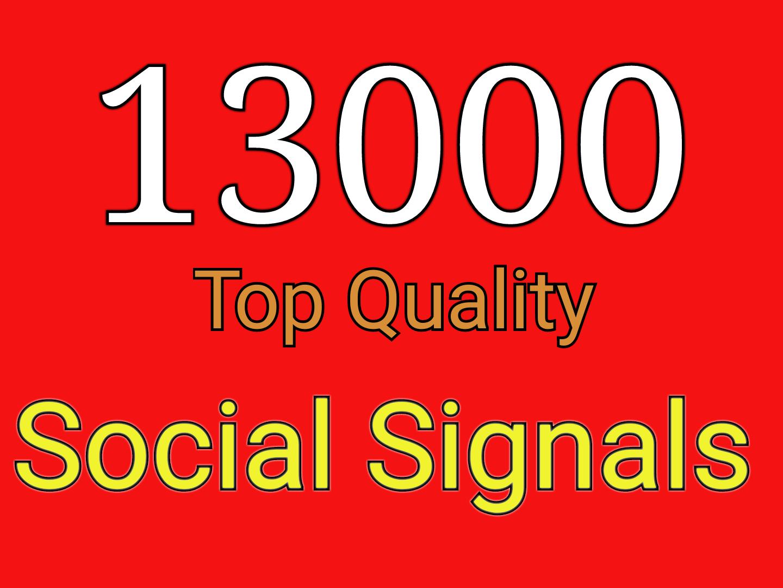 Drip Feed 1500 powerful social signals