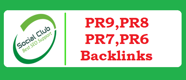 10 Top Social Bookmarking sites PR9,  PR8,  PR7 - With report of social Bookmarking