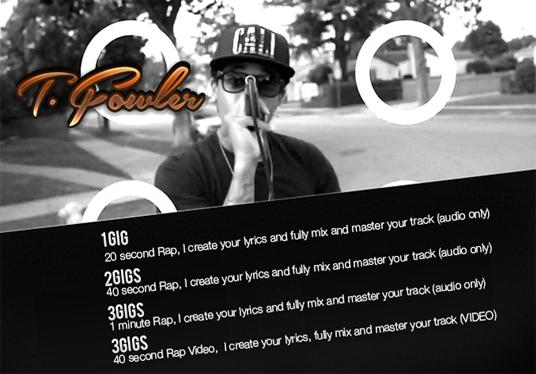make you a Custom Music Video for your Social Marketing needs