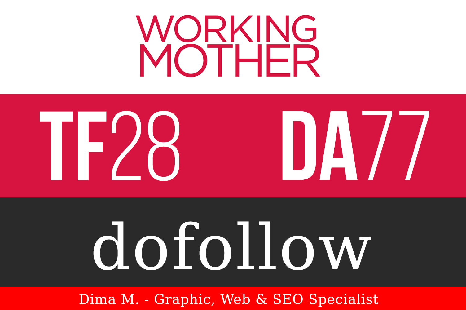 Publish Guest Post on WorkingMother. com DA 76 PA 75