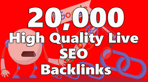I Will Provide Over 20,000 High Quality Live SEO Backlinks