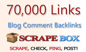 scrapebox BLAST of 70 000 blog comments, UNLIMITED URLS & KEYWORDS ALLOWED, GUARANTED RESULTS