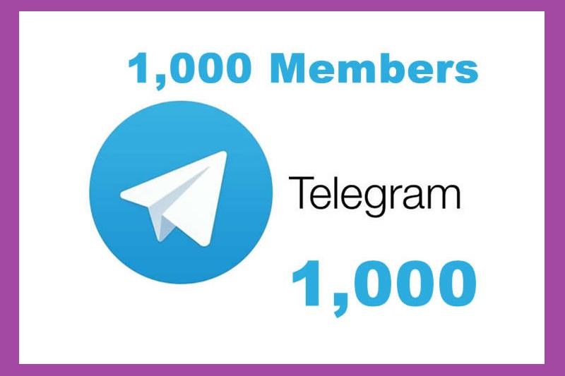 Buy 1000+ Telegram - Channel Members