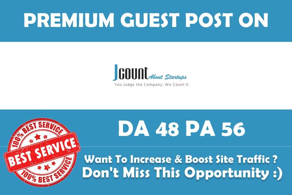 Publish Guest Post on Jcount. com - Jcount - Premium ...