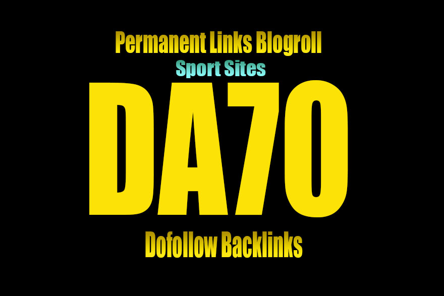Give link DA70 SPORT Site blogroll or guestpost perma...
