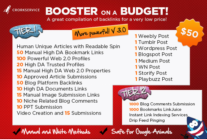'Custom offer for my client Winnie1209- Budget Booster Package