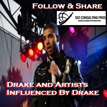 Drake and Artists Influenced by Drake Playlist Comple...