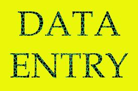 'i will' do data entry jobs