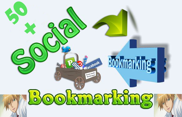 50+Powerful Manually Live Social Bookmarking Dofollow Backlinks Instant