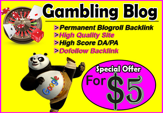 give backlink da80x7 site GAMBLING blogroll permanent