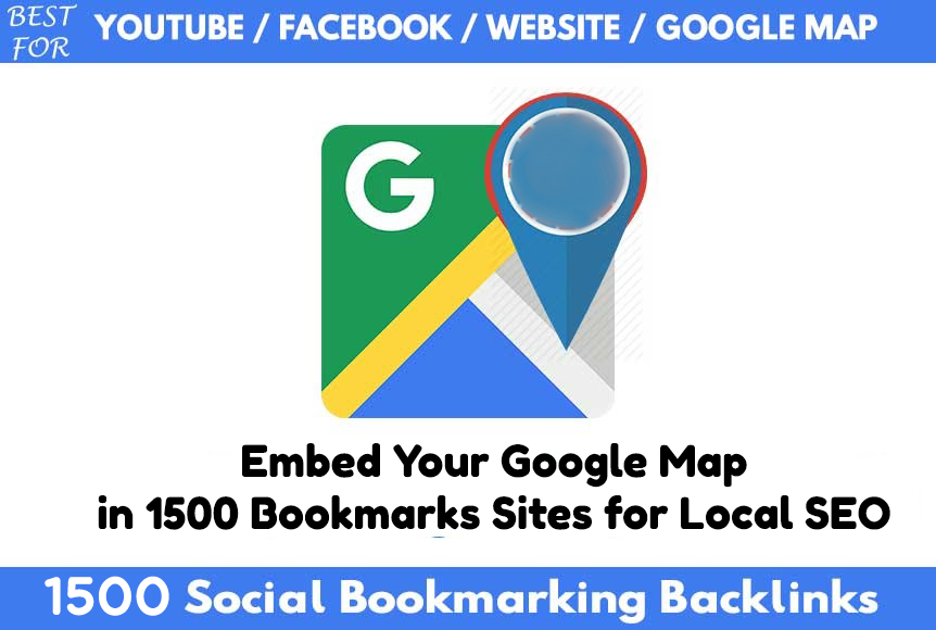 1500 Social Bookmarking Help Local Business Ranking O...