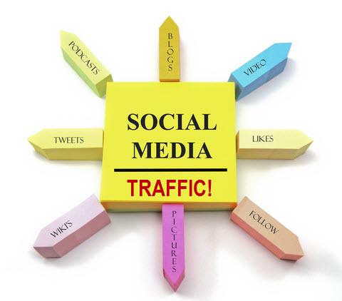 1000 HQ Social Refer Real Website Traffic