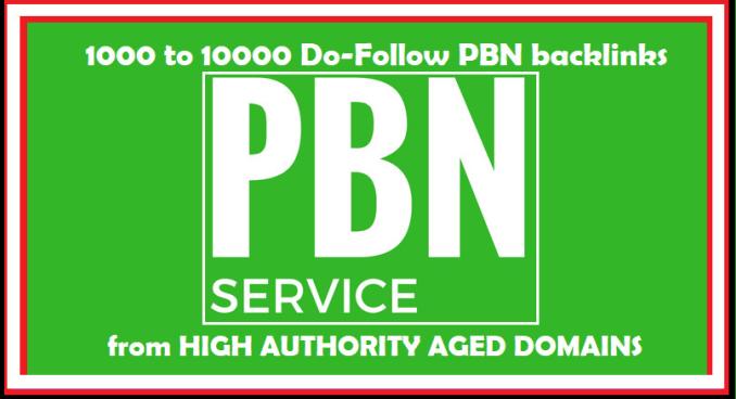 Create 1000 High Authority Dofollow Pbn Backlinks