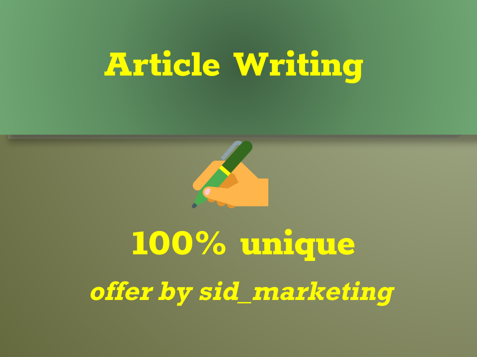 I will write Content on all topics 500+ words