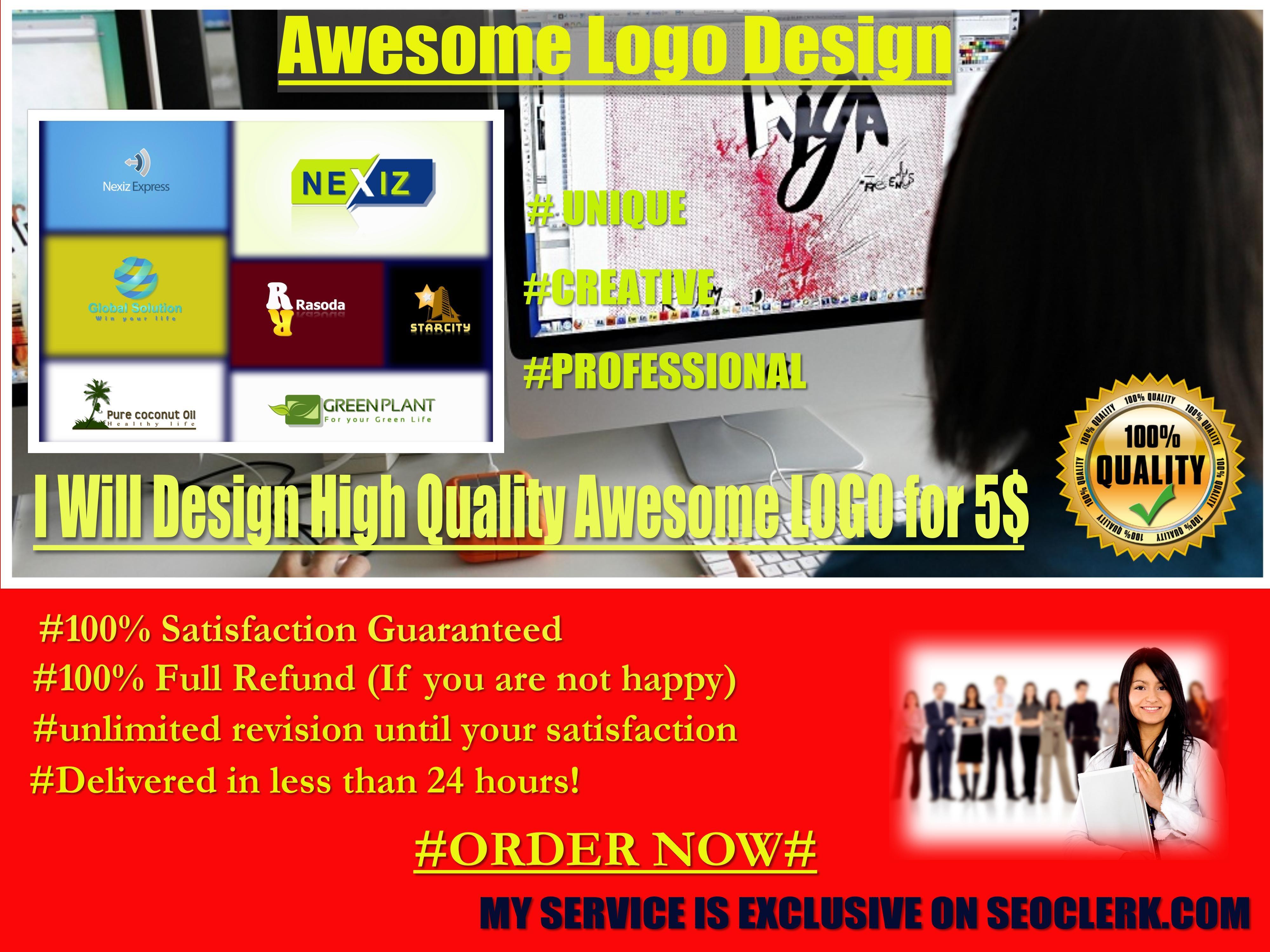 Design 3 CREATIVE EYE CATCHING logo