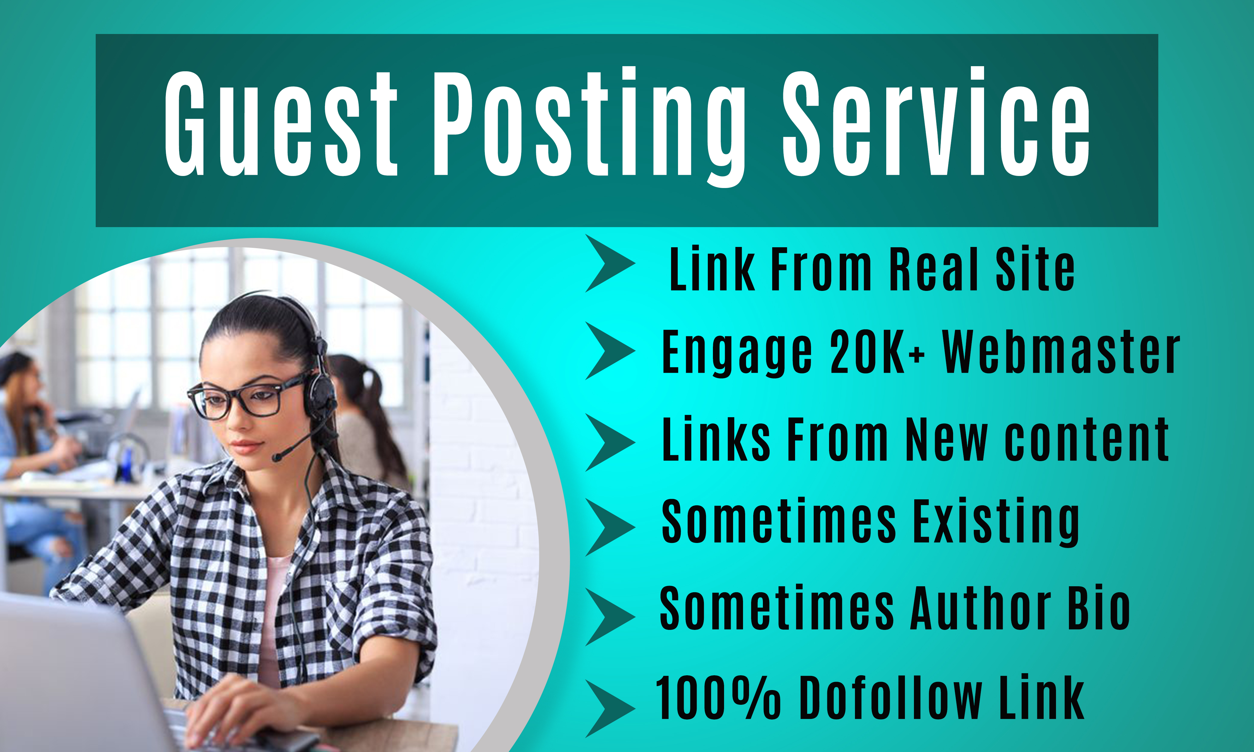 PREMIUM GUEST POSTING SERVICE Editorial Links from Real Sites