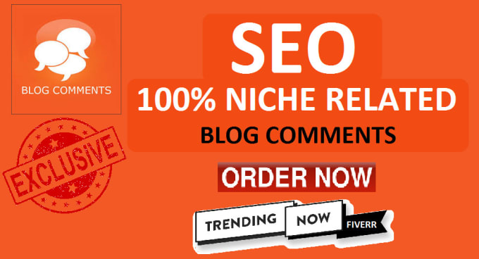 Build 40 Niche Related Blog Comment With Da Pa Site