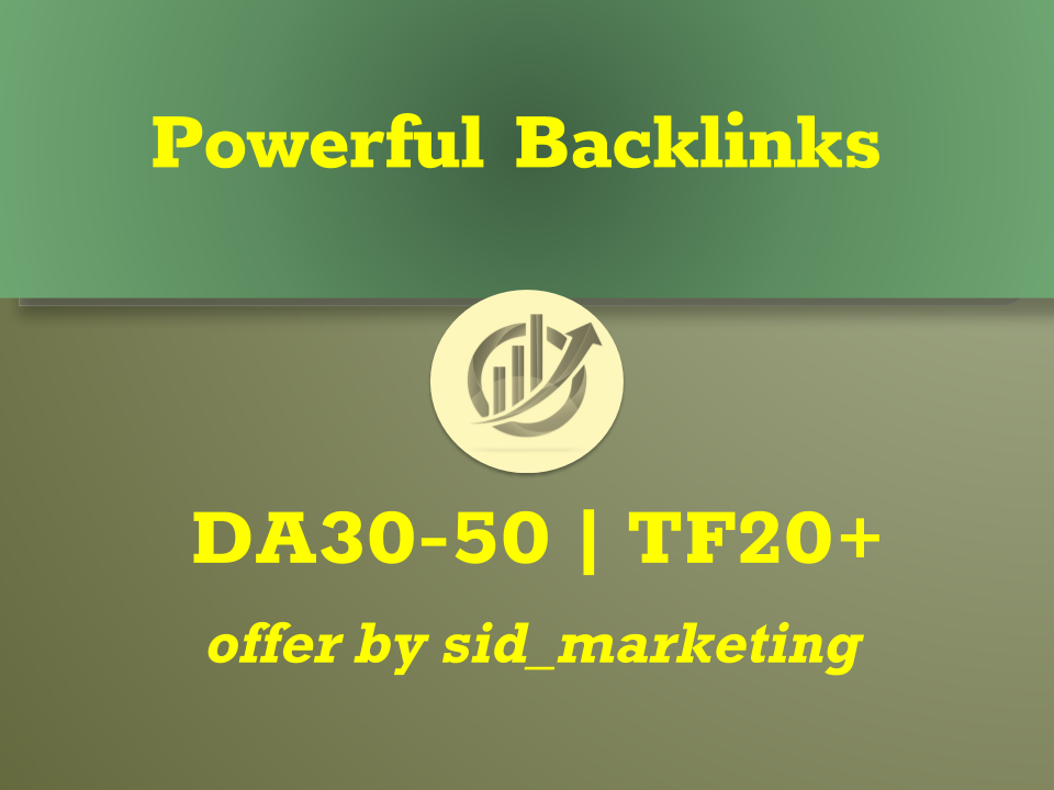 Guest posting service - powerful links from High DA 30-50