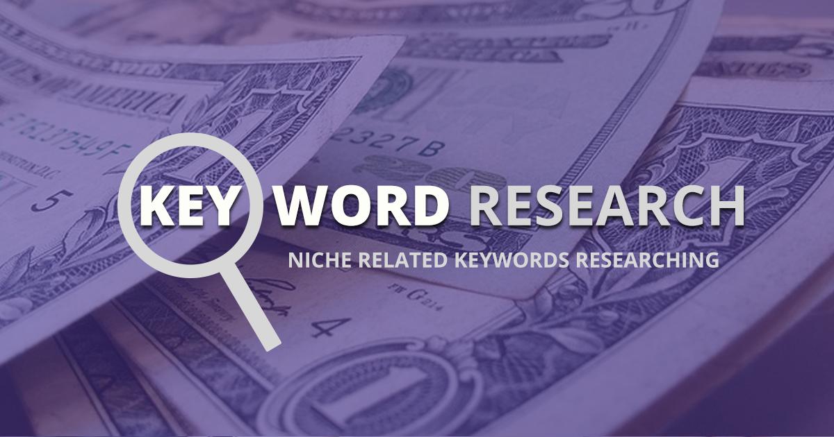 Keywords planing for niche WordPress website
