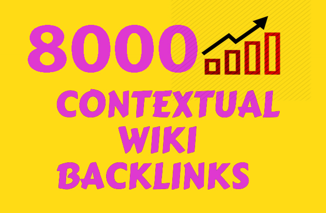 Do Contextual Wiki from 8000 Wiki Articles Backlinks