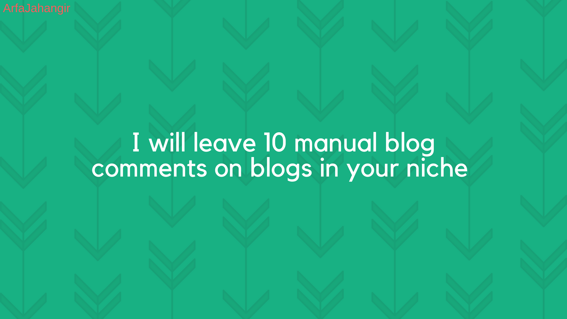leave 15 manual blog comments on blogs in your niche