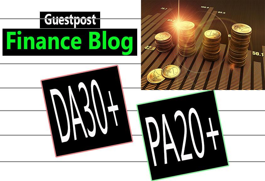 do guest post in DA30 HQ FINANCE blog