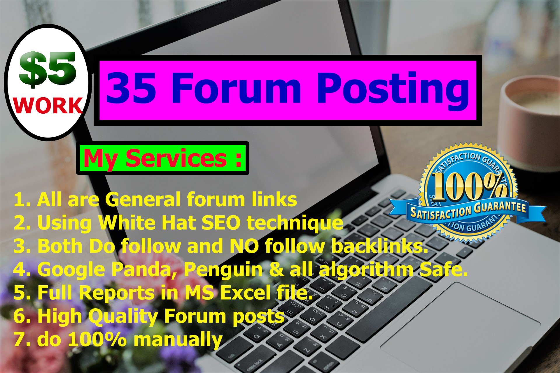 provide 35 HQ Manually General Forum Posts for your website