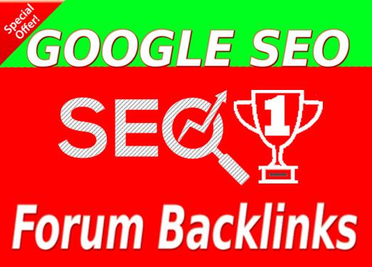 Create 4000 Forum Backlinks For SEO
