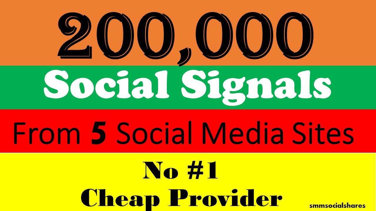 200,000 Mixed LifeTime social Signals From 2 Social Media for Cpa Affiliate Marketing & Business Promotion benefit To boost SEO site Traffic & Shares Bookmarking Backlink Most boost Google Ranking