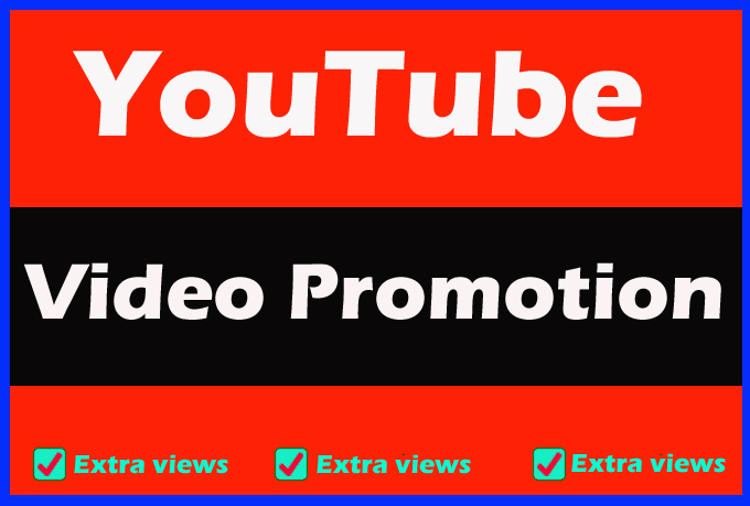 YouTube video Promotion with world wide audience
