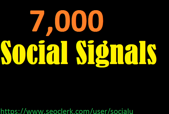 TOP 7,000 pinterest SOCIAL SIGNALS With NUCLEAR SEO Package